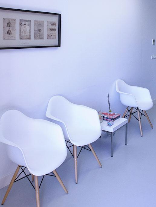 Sala de espera Clínica Carlos Eiras