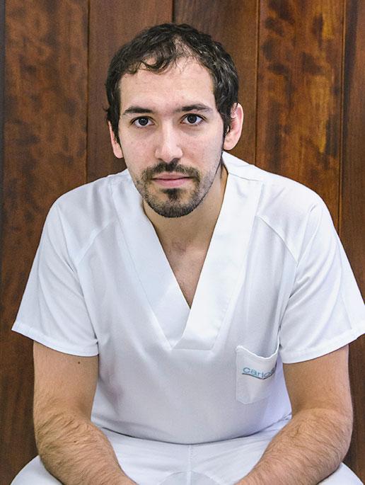 Fisioterapeuta Pablo Rodríguez González